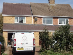 Domestic extension, Bloxham, Banbury, Oxfordshire