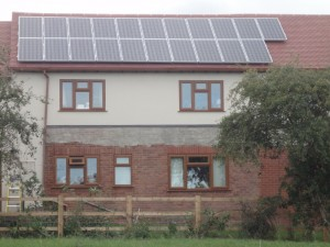 3.99kWp solar PV array, Ettington, Warwickshire